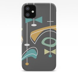 Swank Mid Century Modern Abstract iPhone Case