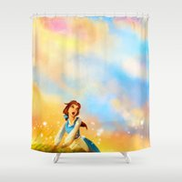 mad Shower Curtains featuring This Provincial Life by Alice X. Zhang