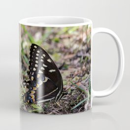 Black Swallowtail Twins Coffee Mug
