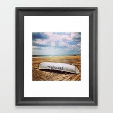 Ventnor Beach Framed Art Print