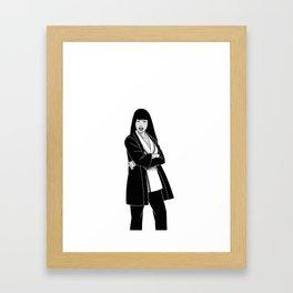 Godaime Hokage, Lady Minaj Framed Art Print
