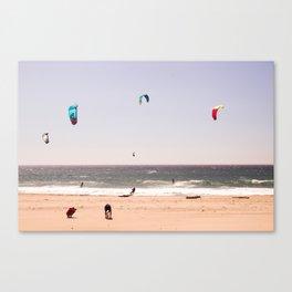 Wind colors Canvas Print