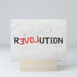 A Simple Message Mini Art Print