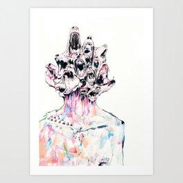 We need to talk Art Print
