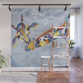 Laffy Giraffy Wall Mural
