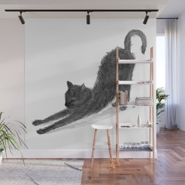 Sleepy Kitty Wall Mural