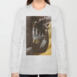 Buddha Hand Illustration Long Sleeve T-shirt