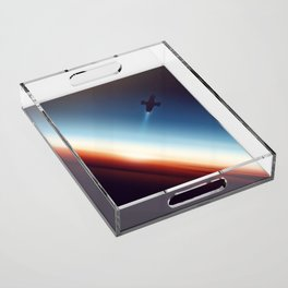 Into Space Acrylic Tray