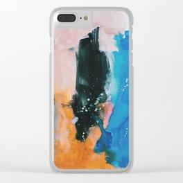 Erase, Rewind Clear iPhone Case