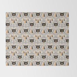 Honey Bears Throw Blanket