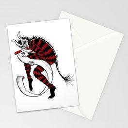 Naughty or Nice Krampuskarten Stationery Cards
