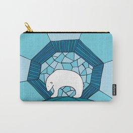 Polar Blue Carry-All Pouch