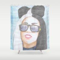 artpop Shower Curtains featuring ARTPOP by Alaskan