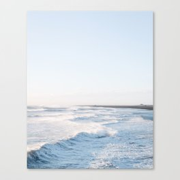 Golden waves - Iceland | landscape - photography - travel - nature - print - photo Canvas Print