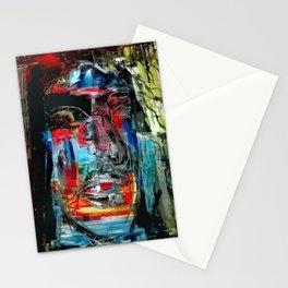 Jesus als Mensch Stationery Cards