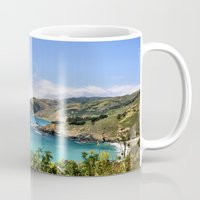 big sur Mugs featuring BIG SUR COAST by K Dempsey Photography