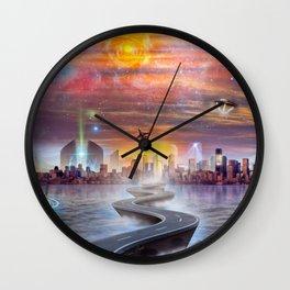FutureVision Wall Clock