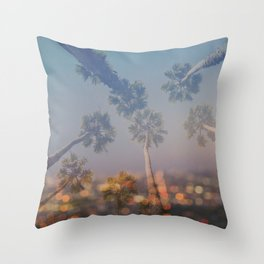 Postcard from L.A. Throw Pillow