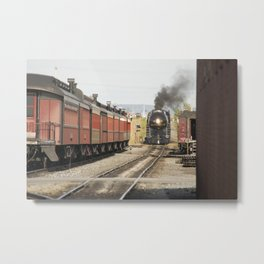 Strasburg Railroad Series 9 Metal Print