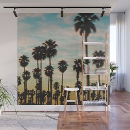 Palm Tree Sky Wall Mural