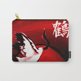 Japanese Crane Carry-All Pouch