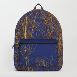 Glimmering Golden Willow Backpack