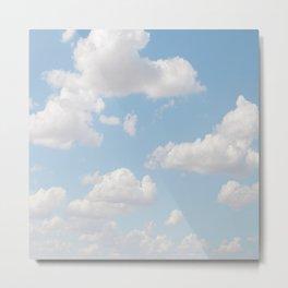 Daydream Clouds Metal Print