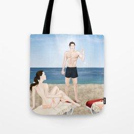 bikini blunder Tote Bag