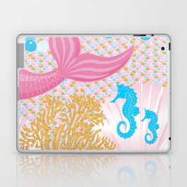 Living a Life as a Mermaid Laptop & iPad Skin