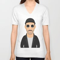 leon V-neck T-shirts featuring Leon by Capitoni