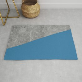 Geometry 101 Saltwater Taffy Teal Rug
