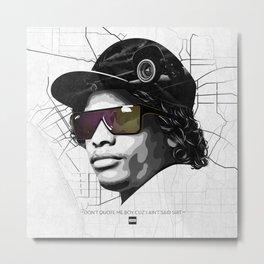 Eazy Muthafuckin E Metal Print