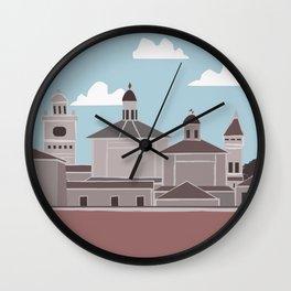 Sabbioneta Wall Clock