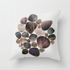 Rock Collection 1 Throw Pillow
