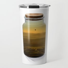 Bottled balloon Travel Mug