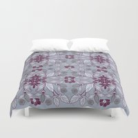 hibiscus Duvet Covers featuring Hibiscus by Azulblau