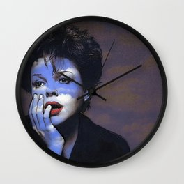 Judy in Clouds IV Wall Clock