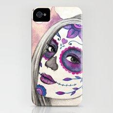 Sugar Skull Girl iPhone (4, 4s) Slim Case