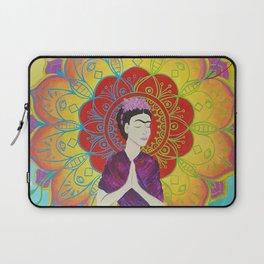 Frida Transcending Mandala and Lotus Blossom Laptop Sleeve