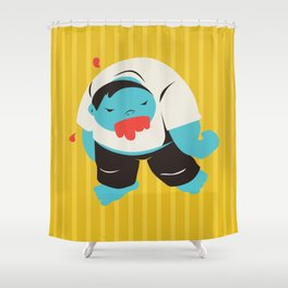 Zombie Dave Shower Curtain