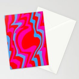 swollen figure Stationery Cards