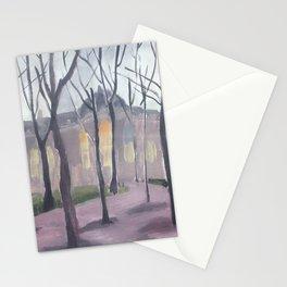 Le Petit Palais en hiver III Stationery Cards