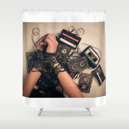 music is the new sex Shower Curtain