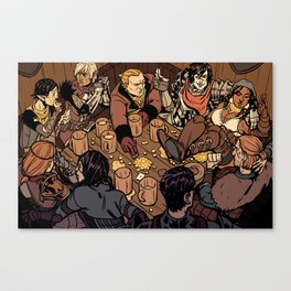 At the Hanged Man Canvas Print