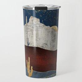 Moonlit Desert Travel Mug
