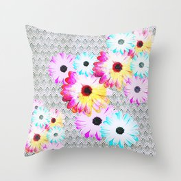 Pop [Happy field] Throw Pillow
