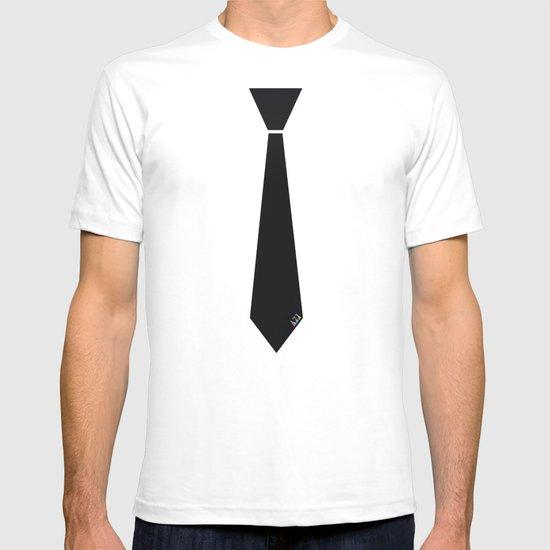Initial Tie T-shirt