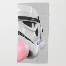 Stormtrooper Bubble Gum 02 Beach Towel