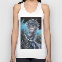 marie antoinette Tank Tops featuring Marie Antoinette by Christina Hess