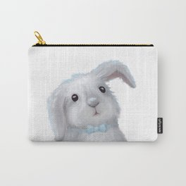 White Rabbit Boy isolated Carry-All Pouch